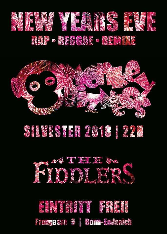MoNkEyBiZNeSs Silvesterparty im Fiddlers Bonn Endenich